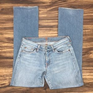 7 For All Mankind bootcut size 27